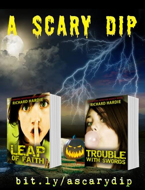 Chandler's Ford author Richard Hardie invites young readers to enter the scary dip.