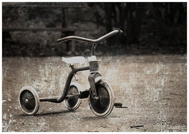 "Tricycle image by <a href=""https://www.flickr.com/photos/larkander/4883351682/"">Johan Larkander</a>  via Flickr."