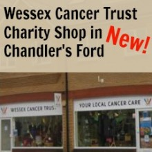 Wessex Cancer Trust: New Charity Shop in Chandler's Ford
