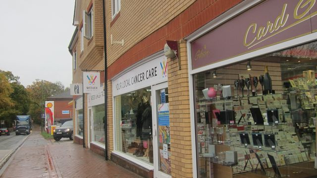 Wessex Cancer Trust new charity shop Winchester Road