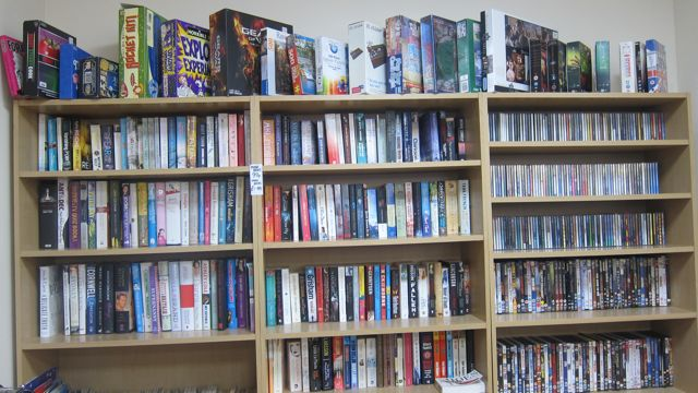 Wessex Cancer Trust new charity shop books and games