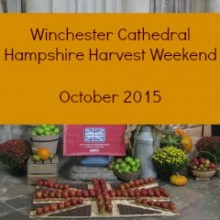 Winchester Cathedral Hampshire Harvest Weekend 2015