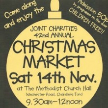 Chandler's Ford 42nd Joint Charities Christmas Market 2015