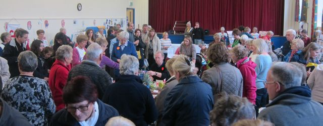 The Joint Charities Christmas Market was well supported.
