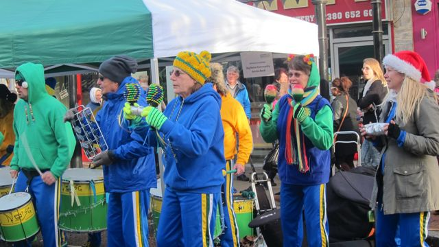 Big Noise Community Samba Band Eastleigh Christmas Nov 2015