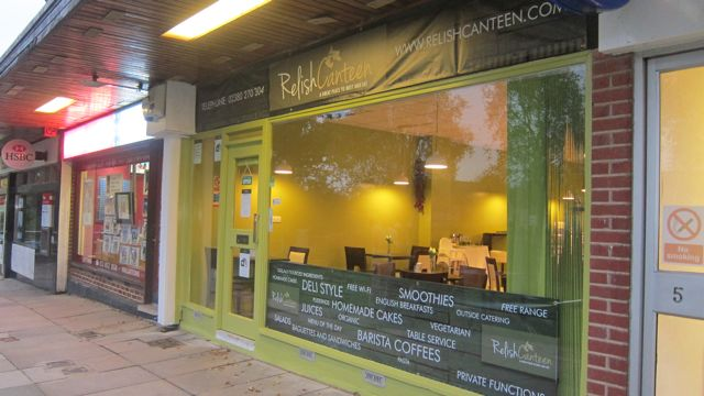 Central Precinct Relish Canteen new banner