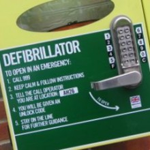 Life-saving Defibrillator Fundraising For Chandler's Ford