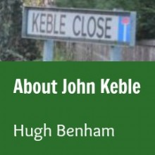 John Keble: Keble Road and Keble Close in Chandler's Ford