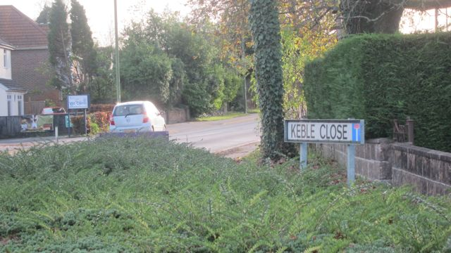 Keble Close in Chandler's Ford
