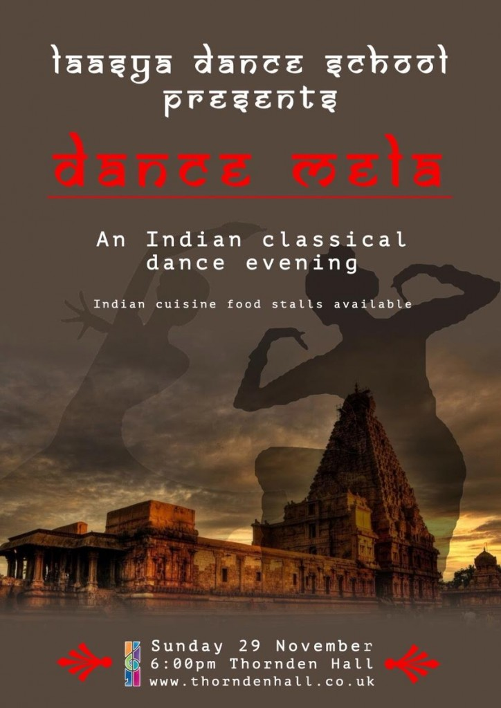 Dance Mela at Thornden Hall on 29th Nov 2015.