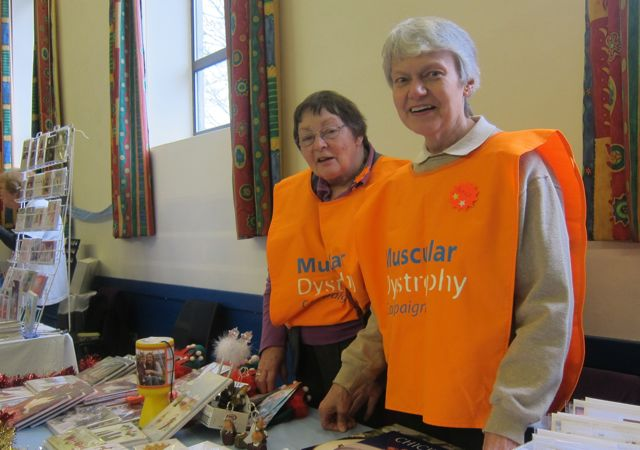 Muscular Dystrophy volunteers