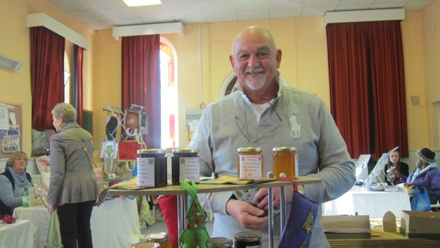 Phillip Troughton sells homemade preserves and cakes, and also shares stories about Doctor Who.