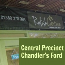 Relish Canteen at Chandler's Ford Central Precinct