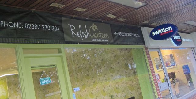 Relish Canteen front