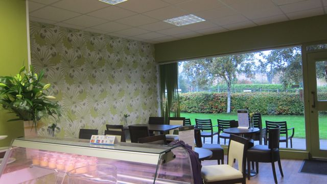 Inside Relish Canteen, Central Precinct, Chandler's Ford.