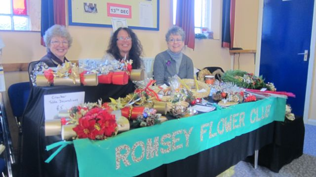 Romsey Flower Club: a friendly group with a passion for flowers.