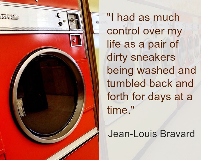 Washing machine image and text Jean-Louis Bravard