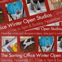 Don't Forget: Winter Open Studios This Weekend at the Sorting Office Eastleigh