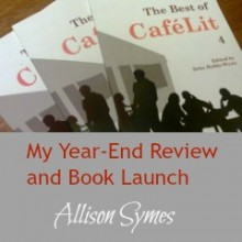 My Year-End Review and Book Launch