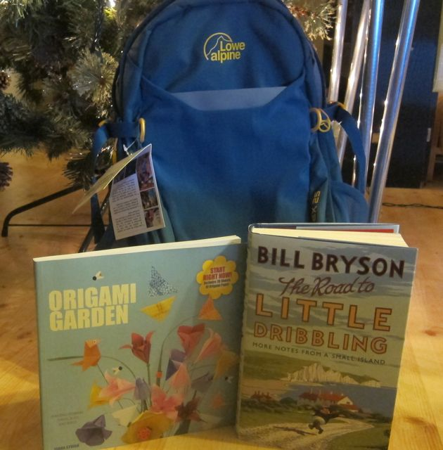 birthday gifts bill bryson origami rucksack