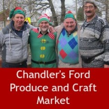 Christmas at Chandler's Ford Produce and Craft Market 2015