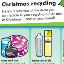 After Christmas –  Local Rubbish Collection Days and Recycling Tips