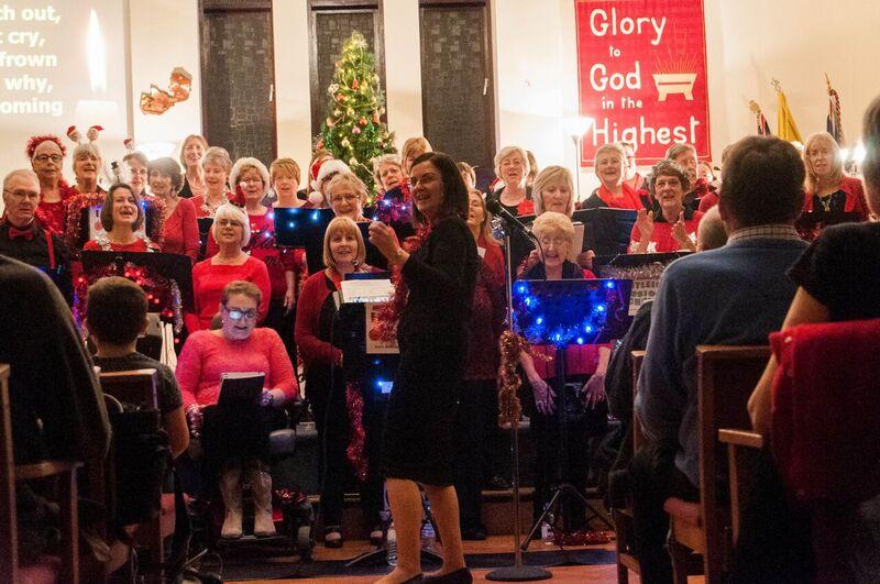 Eastleigh Fusion Choir URC 2015 Christmas concert