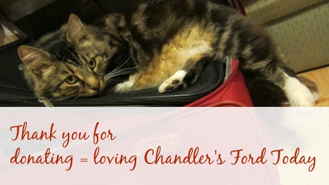 Thank you for your donations for Chandler's Ford Today