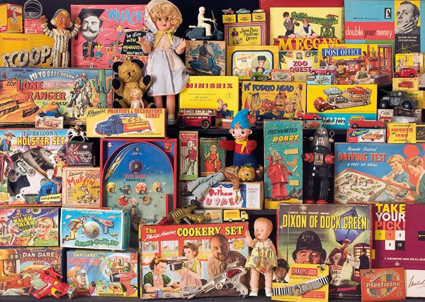 Toys of Christmas Past by Paul Townsend via Flickr