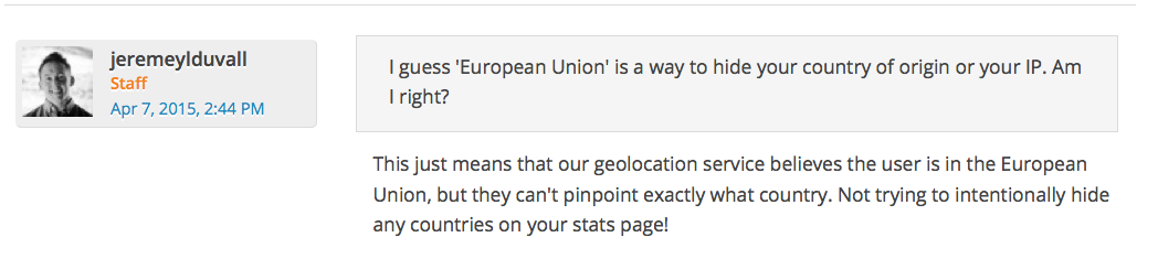 WordPress European Union stats explained
