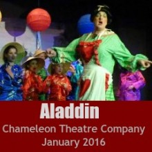 Review of Aladdin by Chameleon Theatre Company