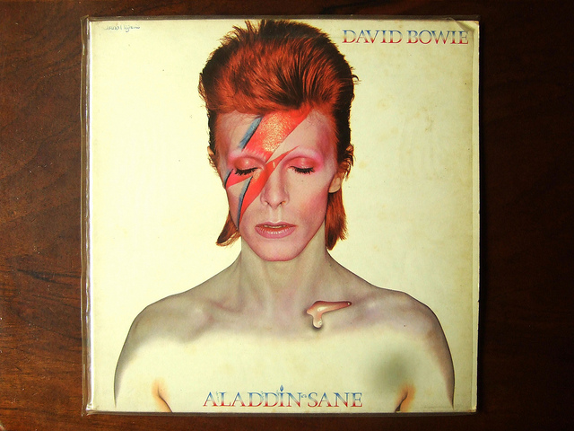 Bowie as Aladdin Sane - Piano Piano via Flickr