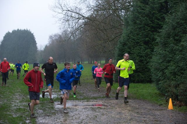 Eastleigh Park Run - Jan 2016. Image credit: Paul Hammond