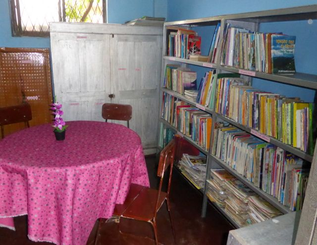 A totally transformed library for 1,000 girls in Sri Lanka.