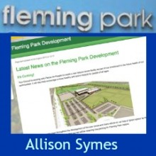Revamping Fleming Park. Fancy Swimming alongside a Local Fiction Writer?