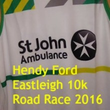 Support St John Ambulance: Hendy Ford Eastleigh 10k Road Race 2016