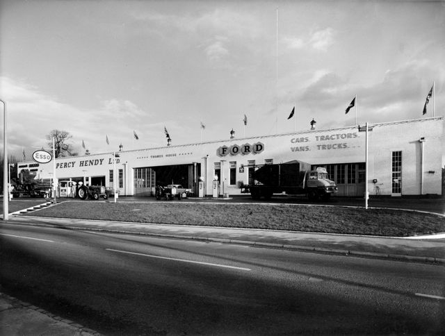 Percy Hendy Ltd on Bournemouth Road in Chandler's Ford.