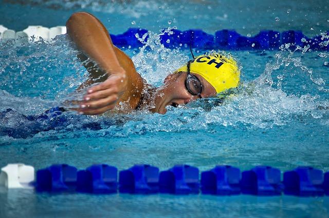 The joy of swimming via Pixabay