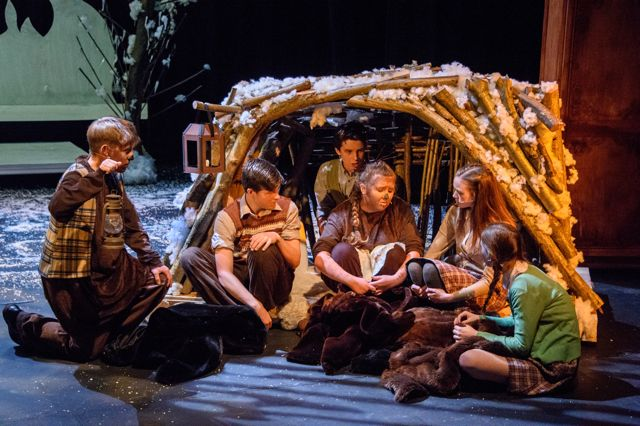 Thornden School performed The Lion, The Witch and the Wardrobe. Image credit: Thornden Hall