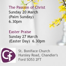 Easter at the Parish Church of Chandler's Ford