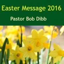 Easter Message 2016