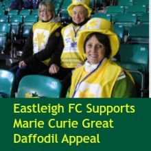 Eastleigh FC Supports Marie Curie Great Daffodil Appeal