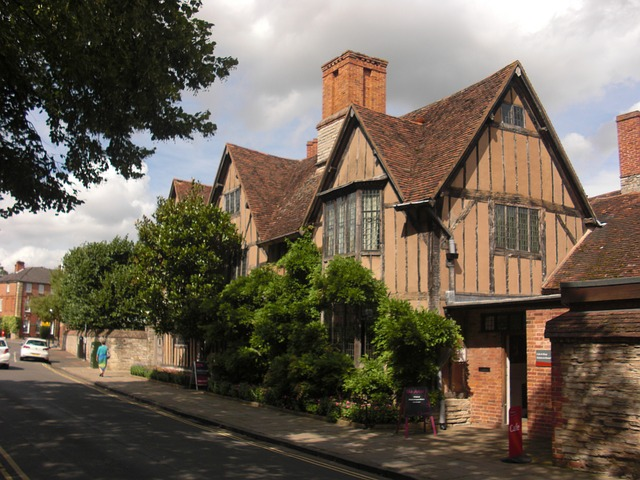 Hall's Croft, Stratford-upon-Avon, home to Shakespeare's eldest daughter - image via Pixabay