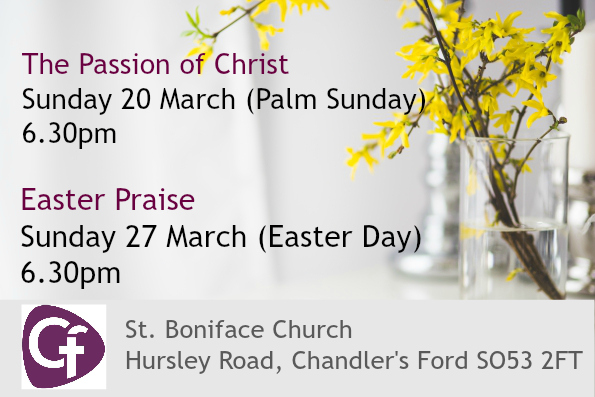 St Boniface Church Easter 2016