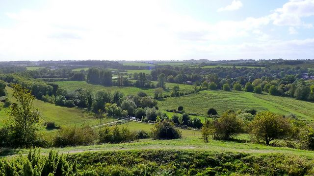 "Looking across the water meadows from St. Catherine's Hill today. Image by <a href=""https://www.flickr.com/photos/herry/6142351209/in/photolist-amMa24-amQ3Gw-amM6GP-8k85B4-amM5CP-7gckZs-dqUNPH-qQ2oK9-7yHp1B-51DgEz-ov7xmT-BRY2dF-cmLvmf-cmLPD7-9zc9s7-aqwG8N-cmLDZS-69sdq1-cmLAWS-iMyK3D-oBSqKs-aqu4ca-h2JvK8-cmLK59-dUhH6k-aqu2Tp-7gKkFv-cmLyYj-8jq7cQ-91n2S1-8kbijQ-cqA5D9-8k87qB-BjMquX-8kbj3J-5v4Hs5-6J1aZF-cmLxSL-9NBiMq-87PCee-87SR4w-87SQsd-avPAsh-8c9fxo-8ZgQSQ-915Wh8-bY97u9-cmLGbw-pzKZPP-87SQz7"">Herry Lawford</a> via Flickr."