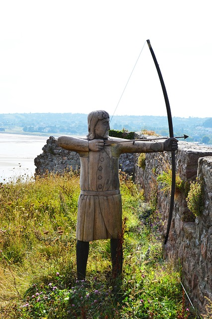 The longbow - new technology for Agincourt via Pixabay