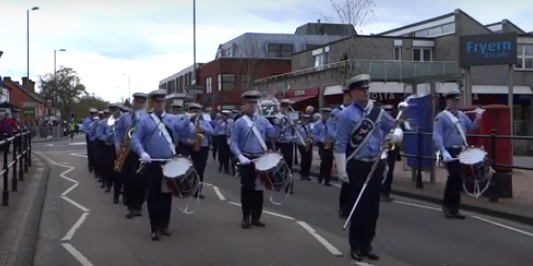 14th Eastleigh Scout and Guide Band 2016 Chandler's Ford St. George's Day parade