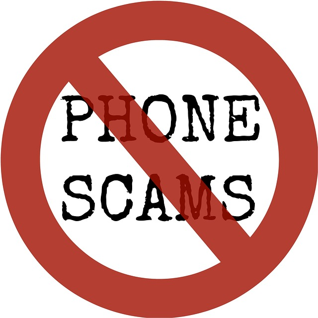 No to phone scams - image via Pixabay