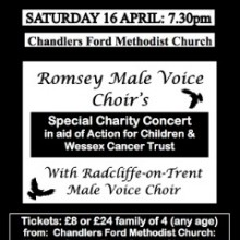 Romsey Male Voice Choir's Special Charity Concert