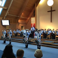 "The Spitfires 14th Eastleigh Scout and Guide Band ""The Spitfires"" 2016 St George's Day concert Chandler's Ford Methodist Church."